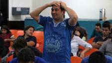 A recently deported Salvadoran man