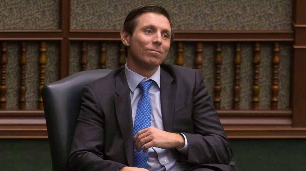 Former Ontario PC Leader Patrick Brown