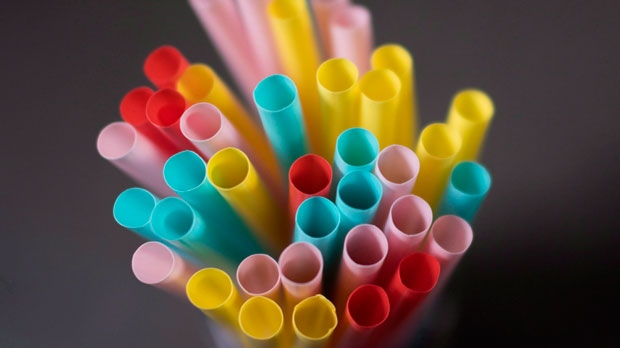 Plastic straws are pictured in North Vancouver, B.C. on Monday, June 4, 2018. Estimates show up to 10 million tonnes of plastic garbage ends up in the oceans each year, and across the oceans there are multiple islands of trash, including one in the Pacific that rivals the size of the province of Quebec. THE CANADIAN PRESS Jonathan Hayward
