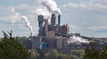 The Northern Pulp Nova Scotia Corporation mill is seen in Abercrombie, N.S., on Wednesday, Oct. 11, 2017. (THE CANADIAN PRESS/Andrew Vaughan)