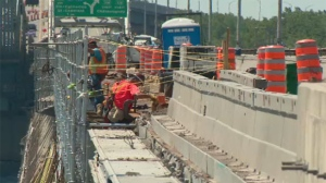 Construction could last through the end of summer
