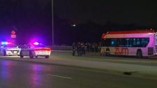 Four people stabbed on Brampton bus