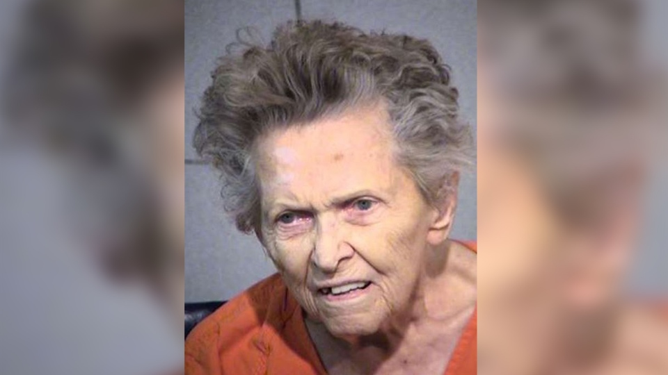 Anna Mae Blessing, 92, has been charged with killing her son. (Maricopa County Sheriff's Office)