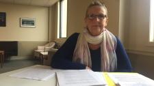 Legal Aid lawyer Deb Hopkins