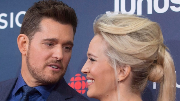 Michael Buble Confirms Wife Luisana Lopilato Is Expecting Daughter