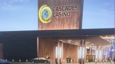 Cascades Casino concept drawing