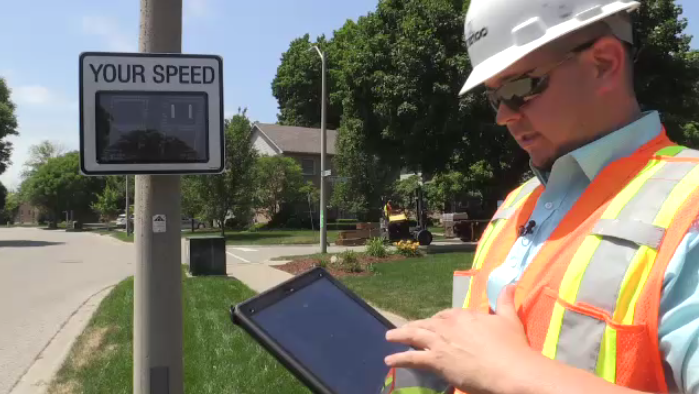 Waterloo Region has implemented two moveable digital signs to help drivers curb their speeds.