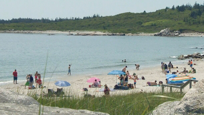 Maritimes under a heat warning
