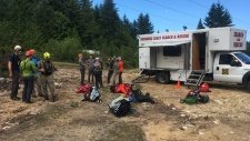 Small plane crash in Sechelt