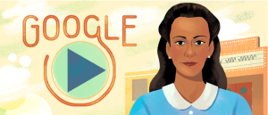 Visitors to Google's home page for searches are being presented with a slideshow celebrating the 104th birthday of Canadian civil rights pioneer Viola Desmond.