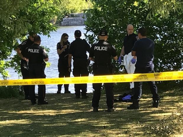 Bordeleau Park body found