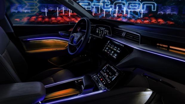 Audi Unveils ETron Interior CTV News Autos - Audi interior