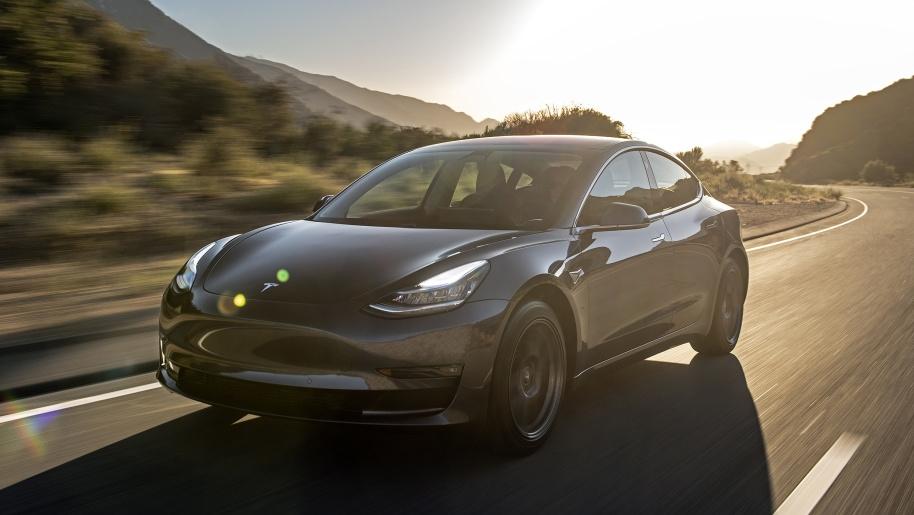 Tesla Model 3. (Tesla via Relaxnews).