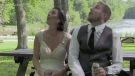 Trending: Falling tree disturbs newlyweds