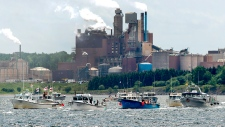 Northern Pulp protest