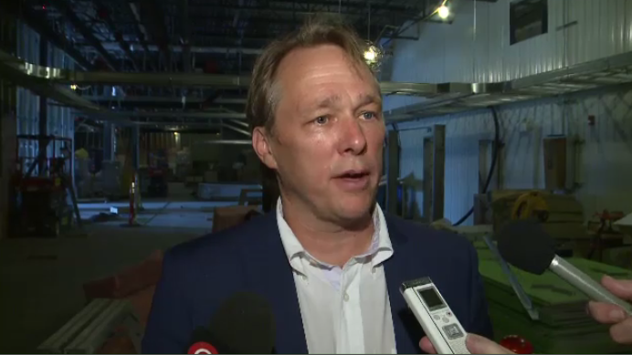 """Bruce Linton, the CEO of Canopy Growth, says no prior experience in growing cannabis is necessary. """"Uh, we don't want you to be an expert in growing marijuana because it means you're probably doing something illegal currently,"""" he said."""