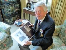 Second World War veteran Jack Rhind.
