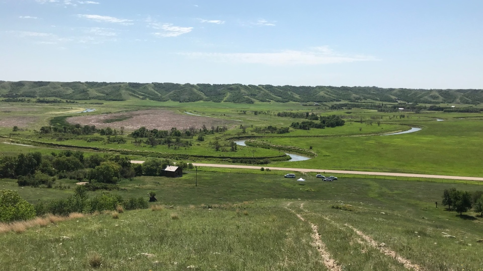An area of grasslands will be protected near Craven (Joey Slattery / CTV Regina)