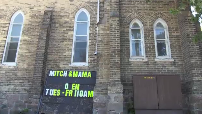 Mitch & Mama's in Listowel opened in an old church on Main Street.