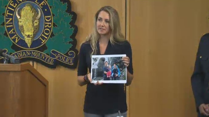 Tonya Kilmer issued a tearful plea for help from homeowners in the Cowichan Valley area to keep their eyes peeled for any sign of her husband Ben, who has been missing since May 16. July 6, 2018. (CTV Vancouver Island)