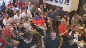 England fans have been enjoying their team's run at the World Cup and, at the Burgundy Lion, some refreshments as well.