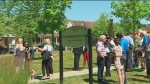 Lloyd Robertson Park officially opens