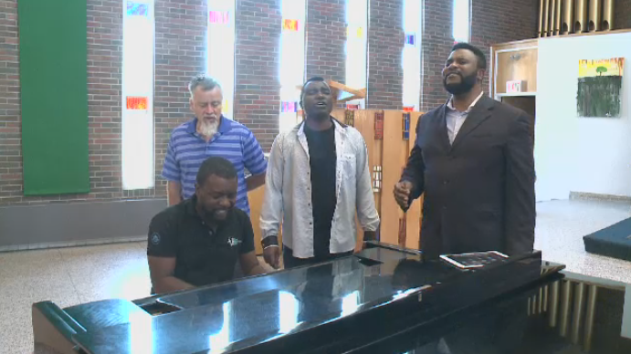 Three brothers are sharing their message of forgiveness and hope through gospel music.