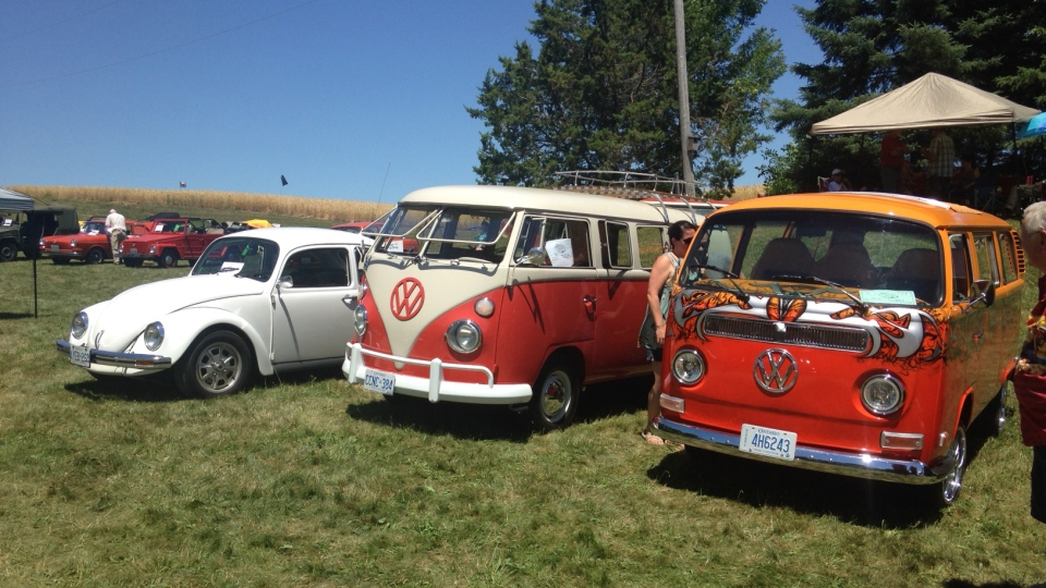 The 37th annual Bug Out show took place in Heidelberg Sunday.