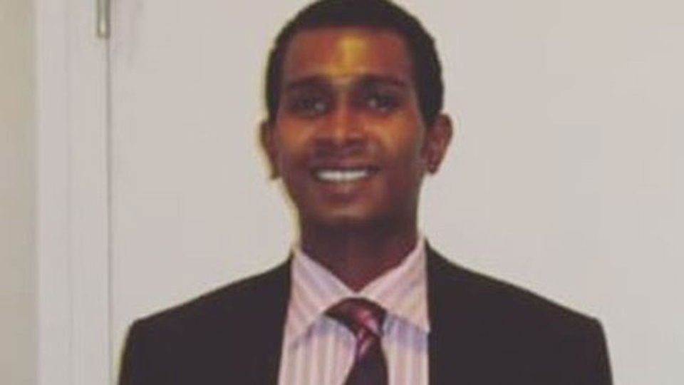 Karim Hirani, 25, was fatally shot in a parking lot near Driftwood Avenue and Jane Street on Sunday July 8, 2018. (Toronto police / Handout)