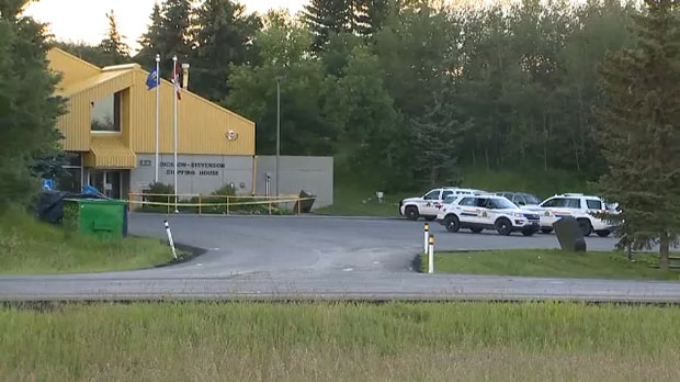 RCMP, Dickson Stevenson Rest Stop, stabbing, Highw