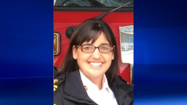 London Fire Chief Lori Hamer