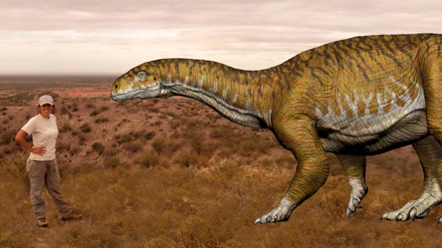 Scientists have found in Argentina giant dinosaur first