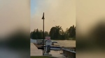 Temagami fire