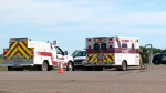 One dead, another in hospital after Hwy 16 crash