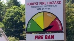Fire danger ratings 'high'