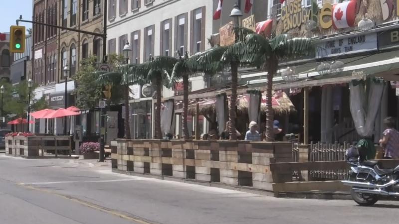 Dunlop Street patios file image.