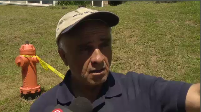 Mohamad Ibrahim come to the lake for a swim Sunday night when a man and woman floated by on a large inflatable duck. He heard a woman cry for help and swam out, but the man had already disappeared.