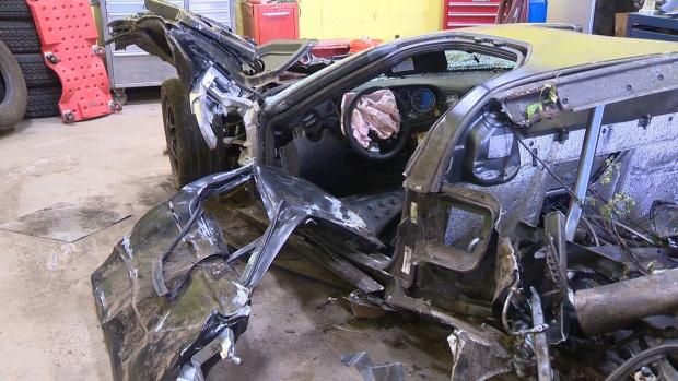 Passengers In Crash Of Exotic Supercar West Of Edmonton Ctv Edmonton News