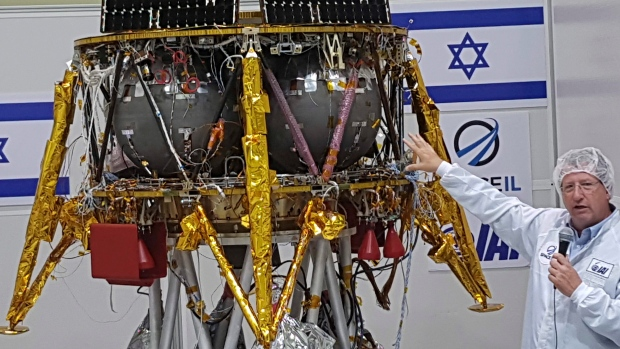 Israel to land first spacecraft on moon in 2019