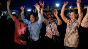 People celebrate Thai cave rescue