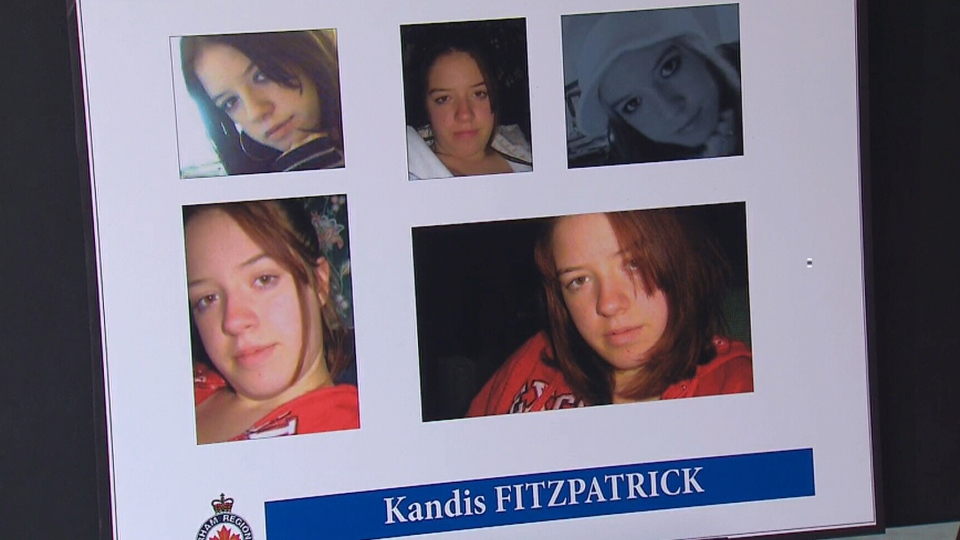 Durham Regional Police say DNA of missing woman Kandis Fitzpatrick was found at an Oshawa, Ont. home where the remains of Rori Hache were found.
