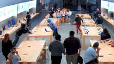 CTV News Channel: Dozens of Apple products stolen