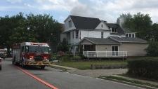 Fire at 400 block of Church Street