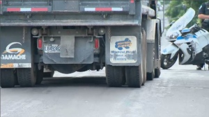 Fatal accident with dump truck on Gouin July 10