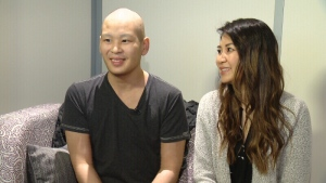 Bille Nguyen is receiving a stem cell donation from his sister, Susan.