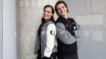 Ice dancing pair Tessa Virtue, left, and Scott Moir pose for a photo at the Entertainment One office in Toronto, Tuesday, July, 10, 2018. They will be visiting 30 Canadian cities in the fall as part of the Thank You Canada Tour. THE CANADIAN PRESS/Marta Iwanek