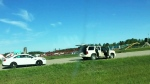 High-speed chase near Prince Albert caught on cam