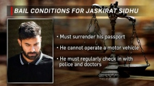 Jaskirat Sidhu - bail conditions