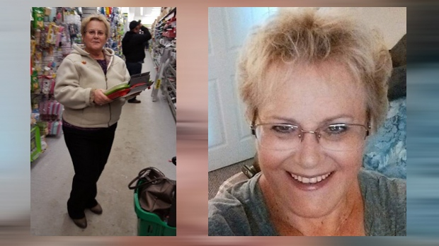 Undated photographs of Bonita Hay, 68, who was last seen on July 6, 2018 (Calgary Police Service)