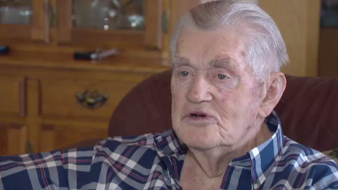 Harold Searle is the third-oldest retired Mountie in Canada.
